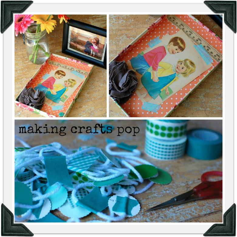making crafts pop border