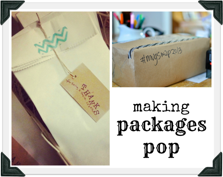 making packages pop border