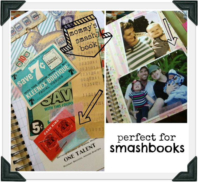 smash book mommy border
