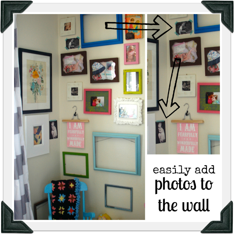 washi wall art border