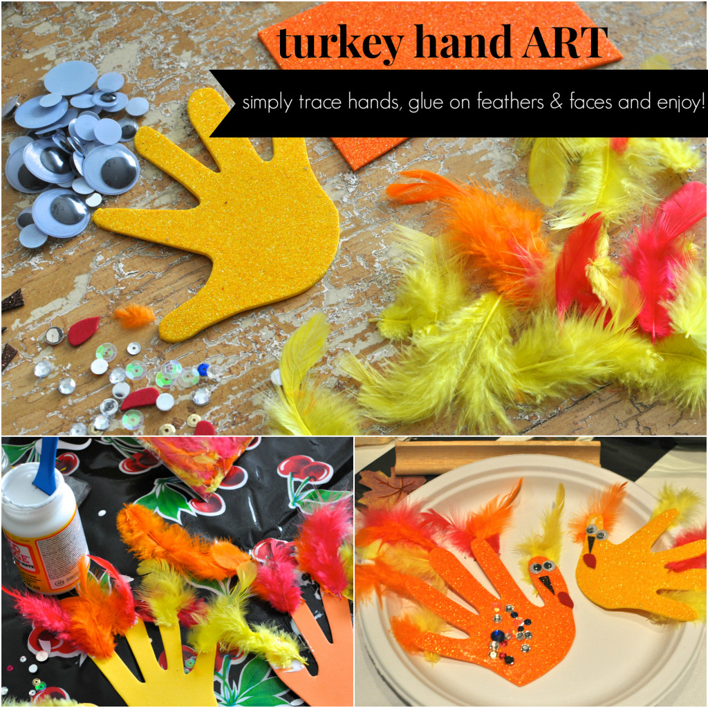 turkey hand art