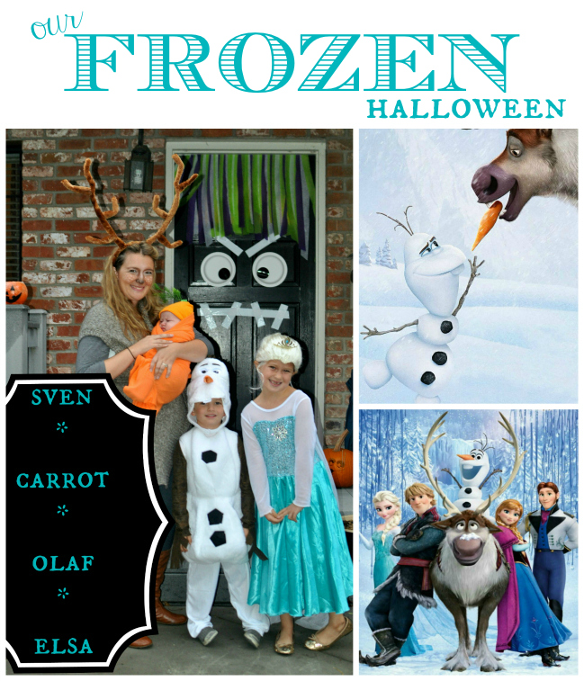 our frozen halloween
